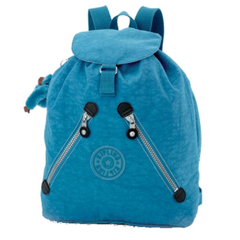 Bags for nursery school - Kipling Fundamental Drawstring Backpack In True Blue