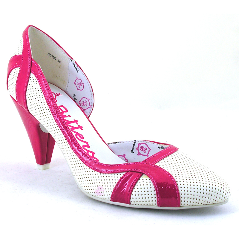 pink court shoe from bittersweet wwsm