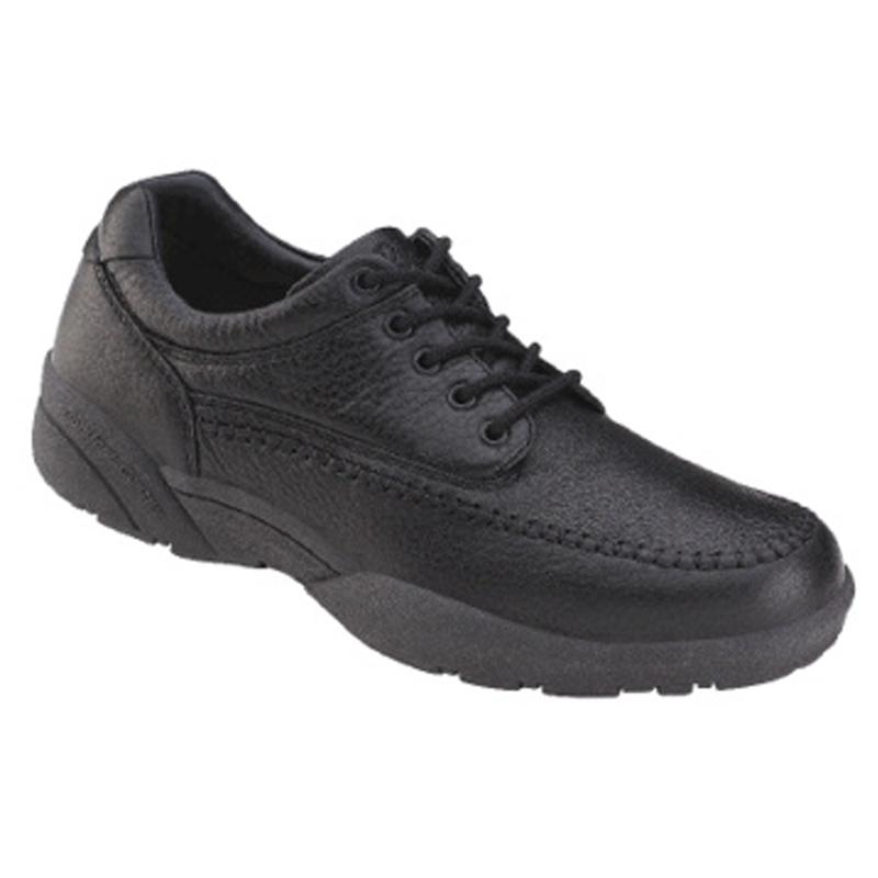 Dr Comfort Stallion Moccasin Shoes in Black Size 7